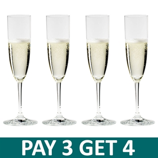 Riedel Vinum Champagne Glasses / Flute - Pay 3 Get 4