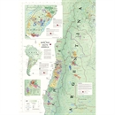 De Long's Wine Map of South America - Wine Regions