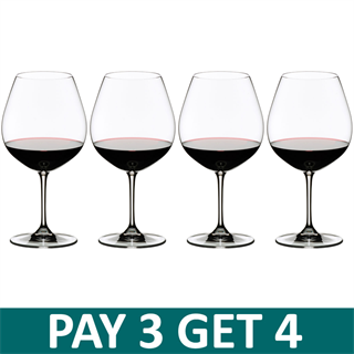 Riedel Vinum Burgundy / Pinot Noir Glass - Pay 3 Get 4