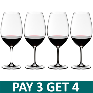 Riedel Vinum Syrah / Shiraz Glass - Pay 3 Get 4