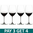Riedel Veritas Cabernet / Merlot Glass - Set of 4 - 5449/0