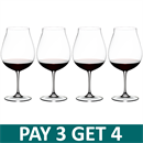 Riedel Vinum New World Pinot Noir Glass - Pay 3 Get 4