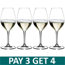 Riedel Vinum Champagne Glass - Pay 3 Get 4