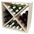 Pine Wooden Wine Rack - Cellar Cube - 144 Bottles - 298mm Deep - Set of 6