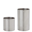 Professional Stainless Steel Thimble Bar Spirit Measure Set - 1x 25ml 1x 50ml