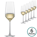 Schott Zwiesel Pure Champagne Glasses / Tulip - Set of 6