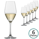 Schott Zwiesel Vina Champagne Glasses / Tulip - Set of 6