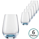 Schott Zwiesel Vina Touch Water Tumbler Blue - Set of 6