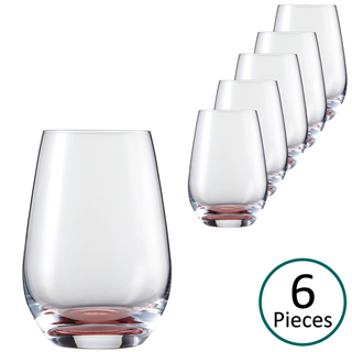 Schott Zwiesel Vina Touch Water Tumbler Red - Set of 6