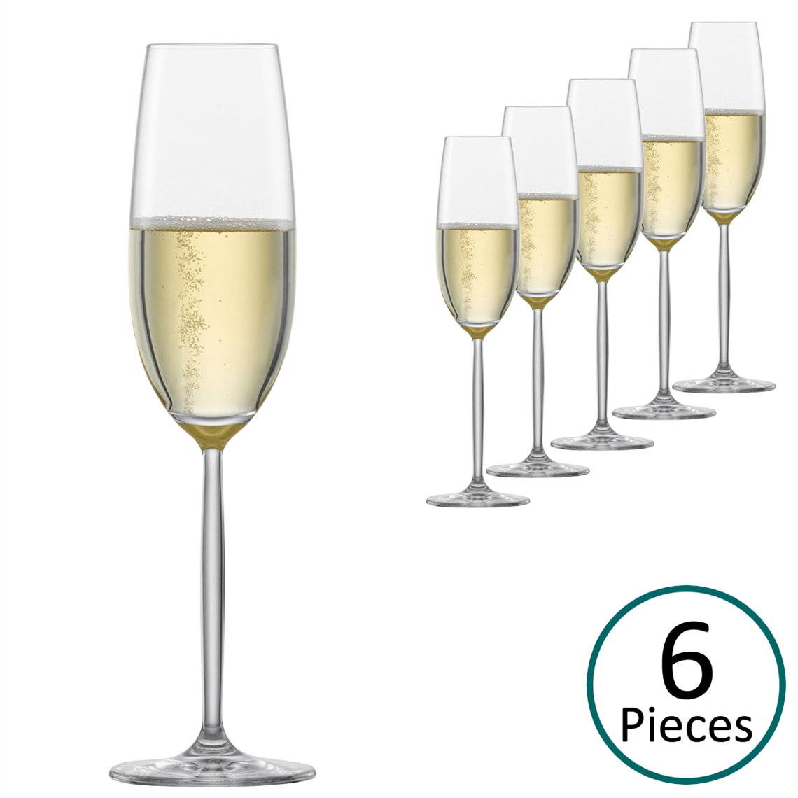 Schott Zwiesel Diva Sparkling Wine Glass Box Of 6