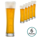 Schott Zwiesel Beer Basic Small Beer Glasses - Set of 6