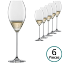 Schott Zwiesel Top Ten Champagne Glasses / Tulip - Set of 6