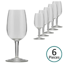 Luigi Bormioli ISO Type Wine Tasting Glasses 12cl - Set of 6