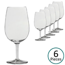 Luigi Bormioli ISO Type Wine Tasting Glasses 31cl - Set of 6