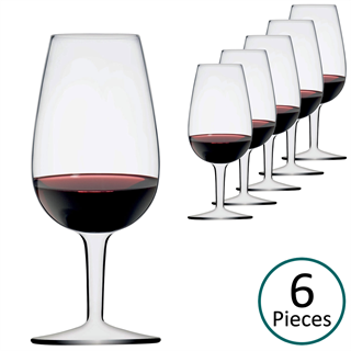 Luigi Bormioli ISO Type Wine Tasting Glasses 21.5cl - Set of 6