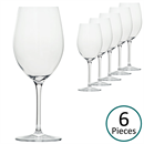 Glass & Co In Vino Veritas Bordeaux Glass - Set of 6