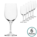 Glass & Co In Vino Veritas Small White Wine / Stemmed Water Glass - Set of 6