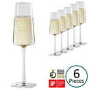 Stolzle Power Champagne Glasses / Flute - Set of 6