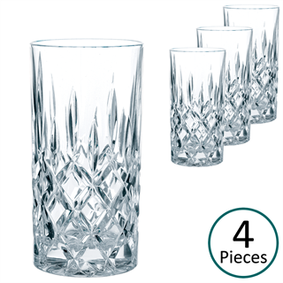 Nachtmann Noblesse Long Drink Mixer Tumbler - Set of 4