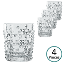 Nachtmann Punk Patterned Whisky Tumbler - Set of 4