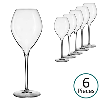 Lehmann Glass Jamesse Premium Champagne / Sparkling Wine Glass 285ml - Set of 6