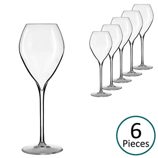 Lehmann Glass Jamesse Premium Champagne / Sparkling Wine Glass 230ml - Set of 6