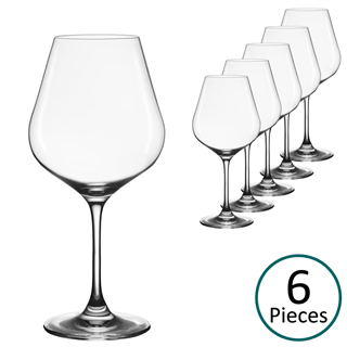 Lehmann Glass Vinalies Bordeaux Glass - Set of 6