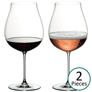 Riedel Veritas New World Pinot Noir / Nebbiolo / Rosé Champagne Glass - Set of 2 - 6449/67