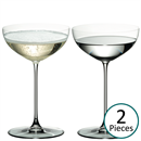 Riedel Veritas Champagne Saucer / Moscato / Martini Glass - Set of 2 - 6449/09