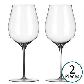 Mark Thomas Double Bend All Round Red / White Wine Glass - Set of 2