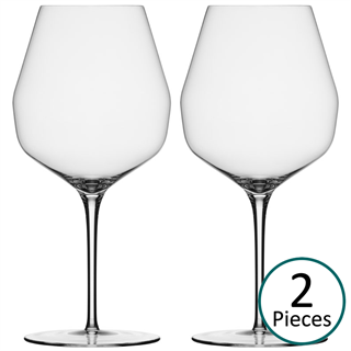 Mark Thomas Double Bend Red Expression Wine Glass - Set of 2