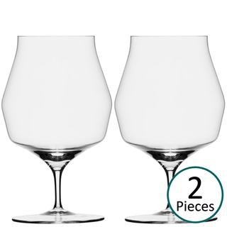 Mark Thomas Double Bend Beer Glass - Set of 2