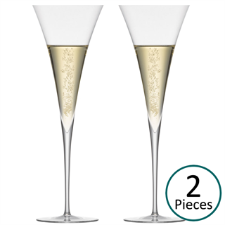 Zwiesel 1872 Enoteca Champagne Glasses / Toasting Flute - Set of 2
