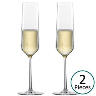 Schott Zwiesel Pure Champagne Glasses / Flute - Set of 2