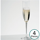 Riedel Sommeliers Crystal Champagne Glass / Flute - Set of 4 - 4400/8