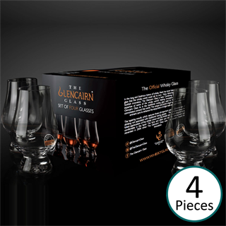 The Glencairn Official Whisky Glass - Set of 4 (Printed Gift Carton)
