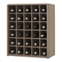 Malbec Self Assembly Series - 176 Bottle Melamine Wine Rack Kit - Rustic Oak Effect