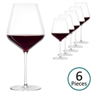 Stolzle STARlight Burgundy Red Wine Glass - Set of 6