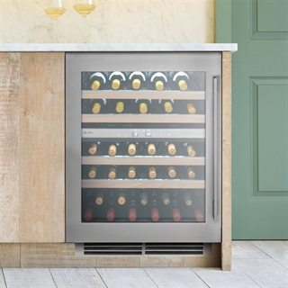 Caple Wine Cabinet Sense Premium - 2 Temperature Zone Slot-In - Stainless Steel Wi6150