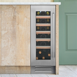 Caple Wine Cabinet Sense Premium - Single Temperature Slot-In - Stainless Steel Wi3150