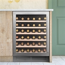 Caple Wine Cabinet Classic - Single Temperature Slot-In - Stainless Steel Wi6142
