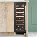 Caple Wine Cabinet Sense - Single Temperature Slot-In - Black Wi3126