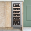 Caple Wine Cabinet Classic - Single Temperature Slot-In - Stainless Steel Wi3125