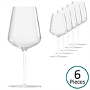 Grassl Glass Elemental Series Versatile Wine Tasting Glass - Set of 6