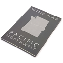 De Long's Wine Map of the Pacific Northwest - Bookshelf Edition