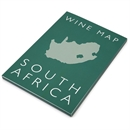 De Long's Wine Map of South Africa - Bookshelf Edition