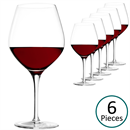 Stolzle Exquisit Burgundy Red Wine Glass - Set of 6