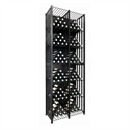 VintageView Free Standing Tall Case & Crate Bin 192 Wine Bottle Storage - Black