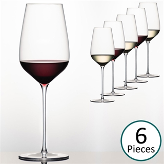 Sydonios Racine Collection - l'Universel Red, White & Champagne Wine Glass - Set of 6