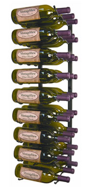 Vintage View metal wine rack